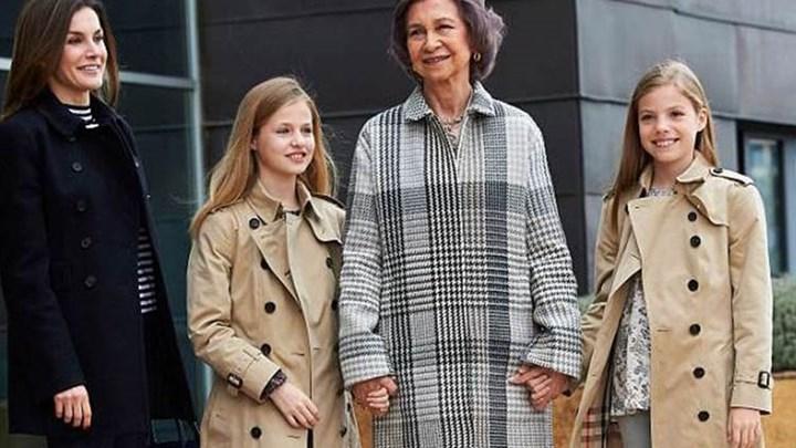 Όλα καλά, όλα ανθηρά - Τα χαμόγελα της βασιλικής οικογένειας της Ισπανίας μετά τον επικό καβγά