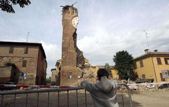 4,6 ρίχτερ προκάλεσαν ζημιές και αναστάτωση στην Ιταλία