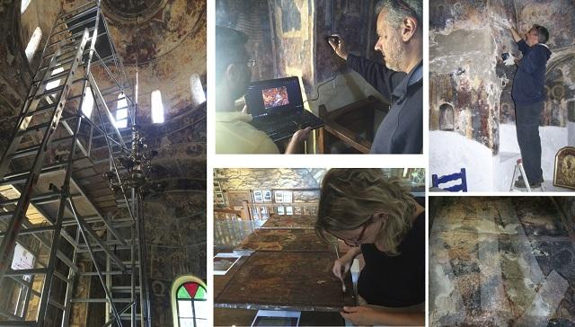 Εκστρατεία διάσωσης μνημείων στη Σκιάθο