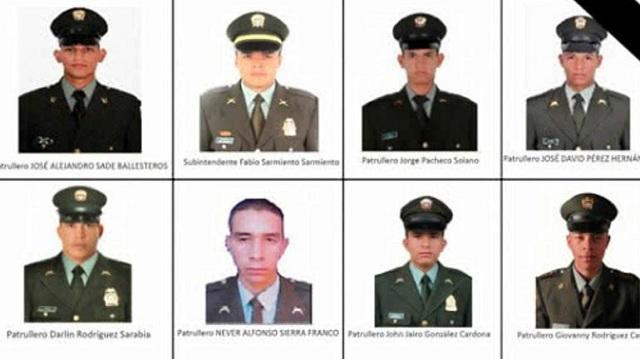 Κολομβία: Νεκροί οκτώ αστυνομικοί από έκρηξη βόμβας