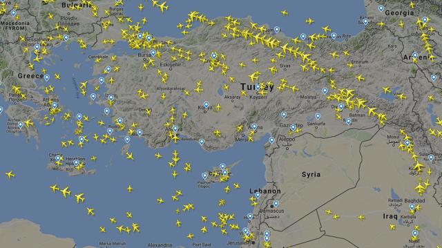 Άδειασε ο εναέριος χώρος της Συρίας: Σταμάτησαν να πετούν αεροσκάφη