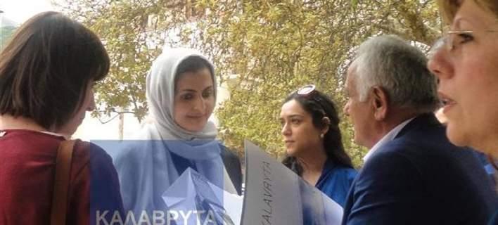 Στα Καλάβρυτα η αδελφή του εμίρη του Κατάρ. Βόλτα με τον οδοντωτό [εικόνες]