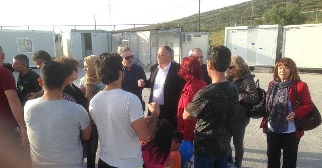 Μέριμνα για την φιλοξενία των προσφύγων από τους φορείς