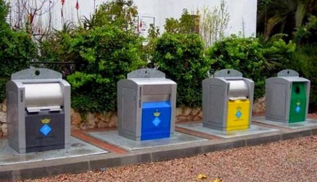 Υπόγειοι κάδοι για τα απορρίμματα στο Δήμο Αλμυρού