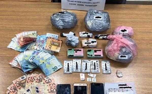 Συλλήψεις για διακίνηση ναρκωτικών στον Βόλο