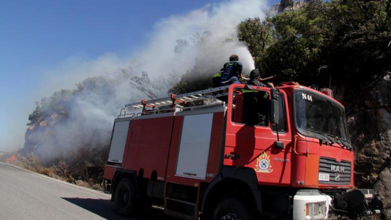 Συνελήφθη 46χρονος για τη μεγάλη φωτιά στην Φρίξα Ηλείας