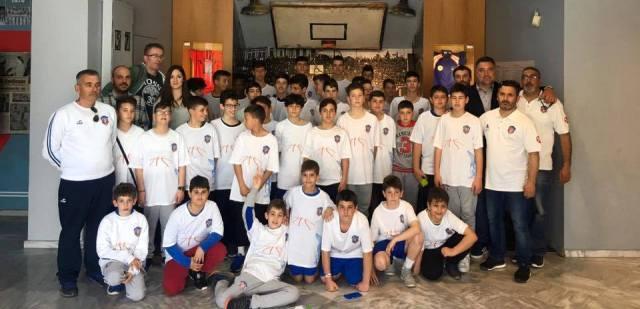 Φιλικά παιχνίδια και εμπειρίες για τις ακαδημίες μπάσκετ της Νίκης Βόλου