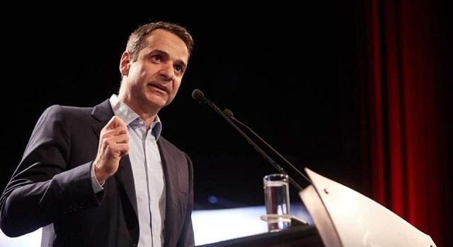Μητσοτάκης: Θράσος να μιλά από το Καστελόριζο για καθαρή έξοδο ο κ. Τσίπρας