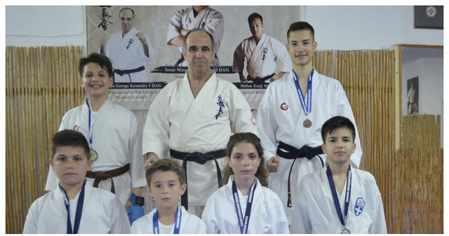 Μετάλλια και διακρίσεις για την Ακαδημία στο Karate