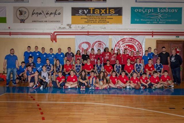 400 παιδιά στο τουρνουά μπάσκετ «φιλίας»