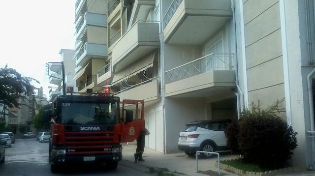 Φωτιά σε διαμέρισμα στην Κουντουριώτου