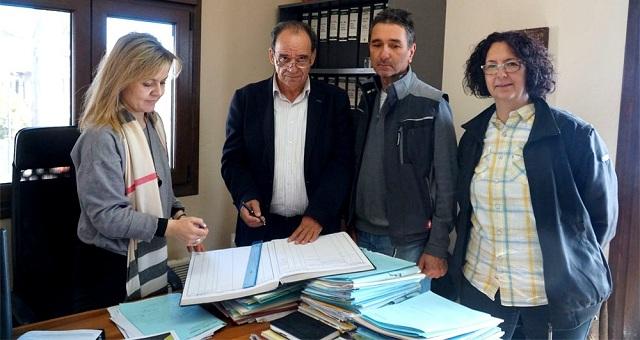 Δωρεά αγροτεμαχίου στον Δήμο Ζαγοράς -Μουρεσίου