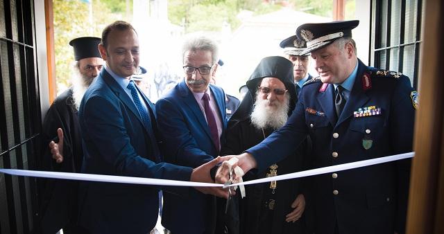 Εγκαίνια -γιορτή για τη νέα στέγη του Αστυνομικού Τμήματος Ν. Πηλίου