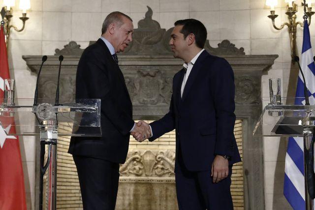 Ερντογάν: Η ειρήνη με την Ελλάδα αξίζει όσο καμία άλλη
