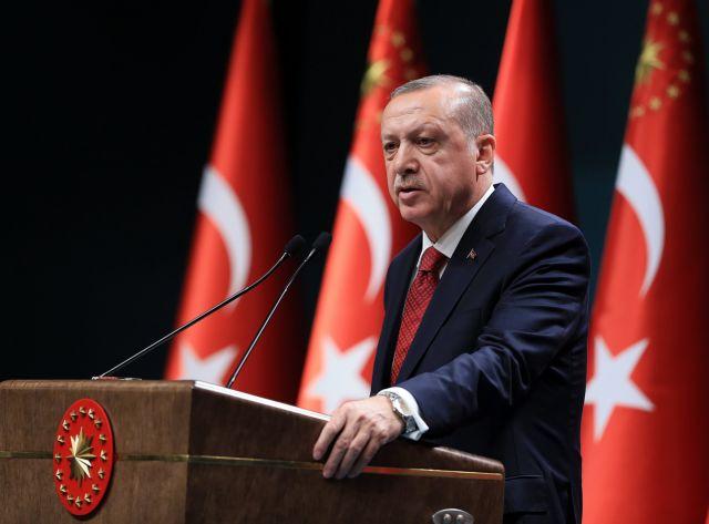Ανταλλαγή των δύο Ελλήνων με τους 8 Τούρκους ζητά ο Ερντογάν