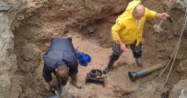 Αποκαταστάθηκε η βλάβη στο δίκτυο ύδρευσης Κριθαριάς