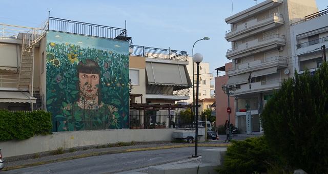 Στην περιοχή του Νοσοκομείου η νέα τοιχογραφία της Urbanact