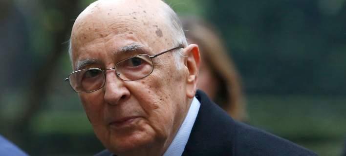 Ιταλία: Εσπευσμένα στο νοσοκομείο ο Πρόεδρος της Δημοκρατίας Τζόρτζιο Ναπολιτάνο