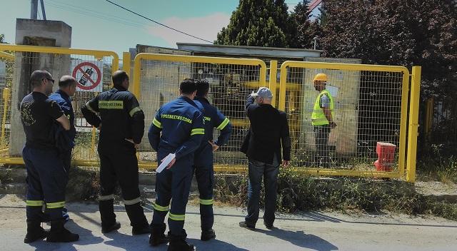 Ενημέρωση πυροσβεστών της ΒΙ.ΠΕ. Βόλου από την ΕΔΑ ΘΕΣΣ