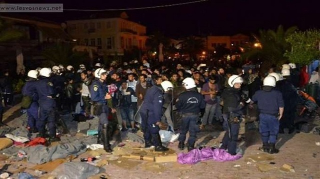 Δικογραφία σε βάρος 17 κατοίκων της Λέσβου για επίθεση σε πρόσφυγες
