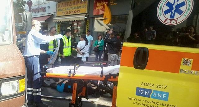 Τραυματισμός γυναίκας στην Ιάσονος