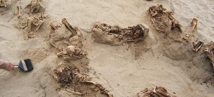 Ανακάλυψαν στο Περού τη μεγαλύτερη θυσία παιδιών: 140 σκελετοί ανηλίκων έως 14 ετών