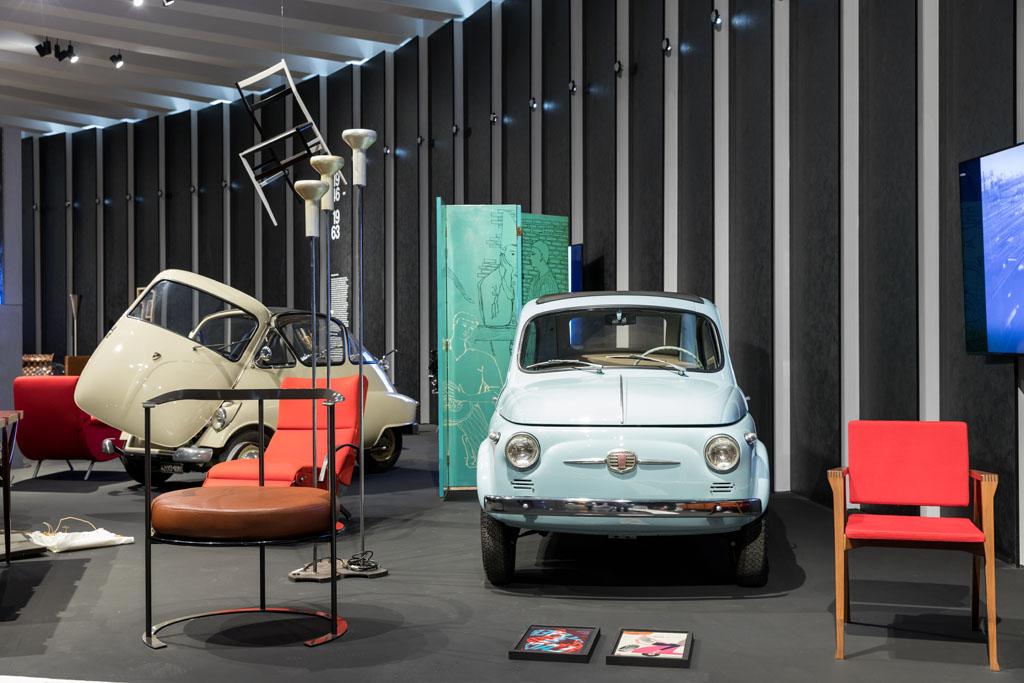 Δύο εμβληματικά μοντέλα της Fiat στην έκθεση του Μουσείου Design Triennale…