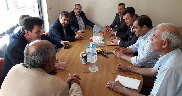 Συναντήσεις Χρ. Μπουκώρου με φορείς της Δ.Μακεδονίας μετά τις πρόσφατες εξελίξεις στη ΔΕΗ