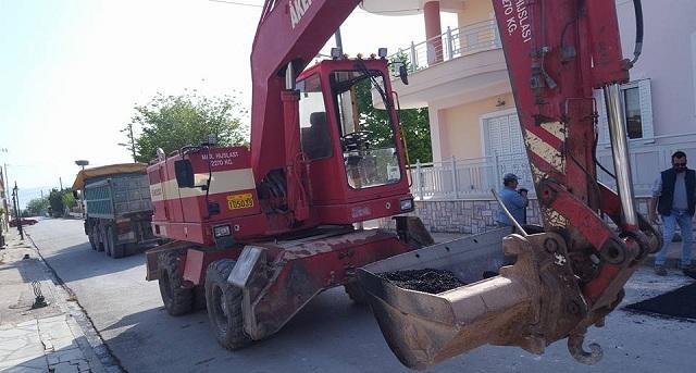 Παρεμβάσεις εσωτερικής οδοποιίας στον Δήμο Ρήγα Φεραίου