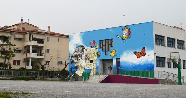 Η 4η τοιχογραφία της Urbanact στο 6ο Δημοτικό Σχολείο Ν. Ιωνίας