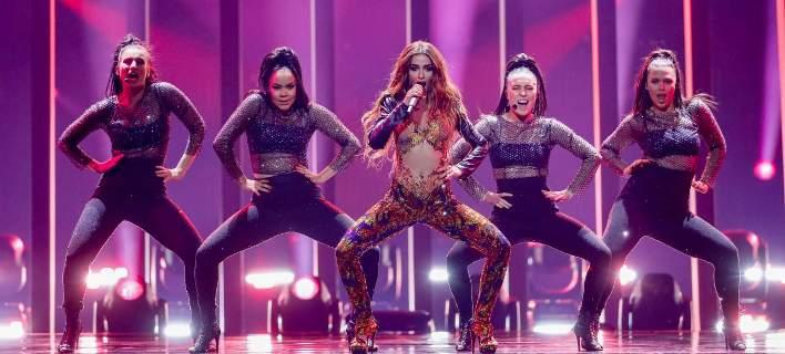 Eurovision 2018: Η εμφάνιση της Ελένης Φουρέιρα στη σκηνή [εικόνες-βίντεο]
