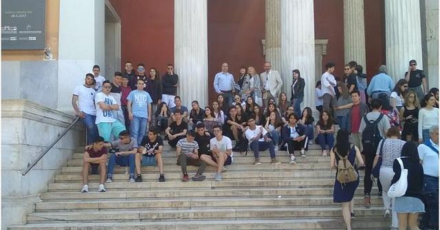 Χώρους δημοκρατίας, πολιτισμού και επιστημών γνώρισαν οι μαθητές