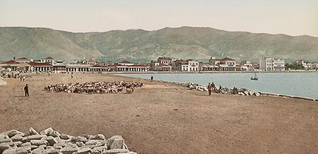 Φωτογραφία του παλιού Βόλου στη βιβλιοθήκη του Κογκρέσου