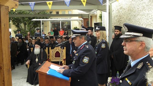 Θυρανοίξια του Παρεκκλησίου στο Αστυνομικό Τμήμα Αλμυρού