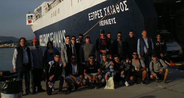 Βιωματική εκπαίδευση μηχανικών εμπορικού ναυτικού στο «Express Σκιάθος»