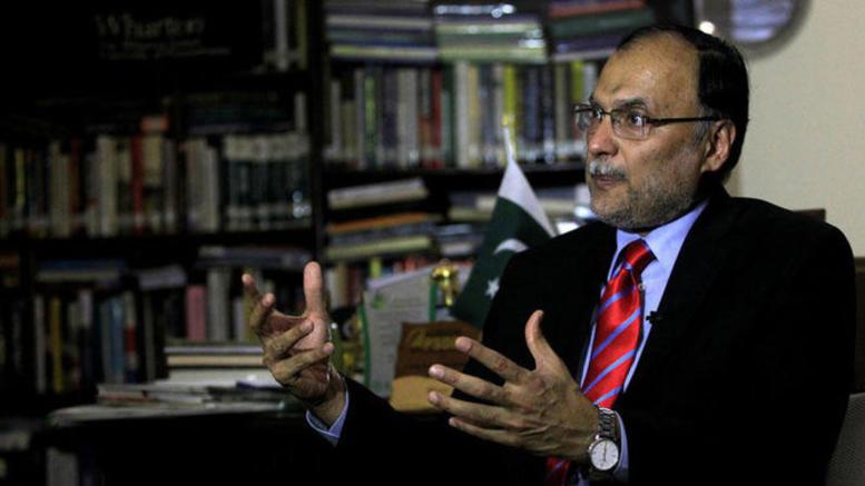 Απόπειρα δολοφονίας του υπουργού Εσωτερικών του Πακιστάν