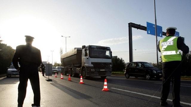 Σε ισχύ κυκλοφοριακές ρυθμίσεις στην Ε.Ο. Αθηνών -Λαμίας