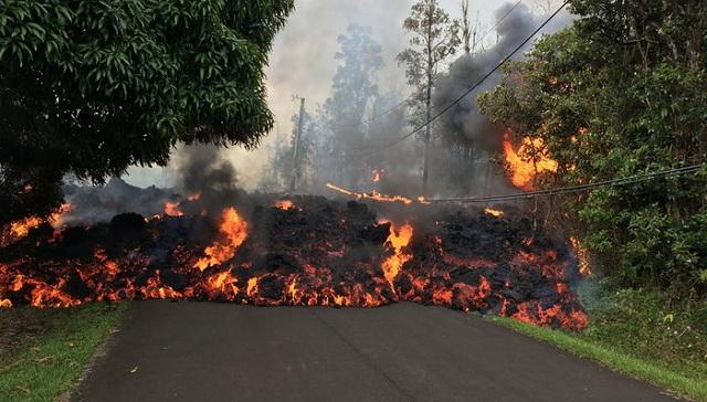 Χαβάη: H λάβα του ηφαιστείου σε κατοικημένες περιοχές