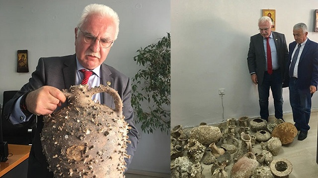 Χτύπημα της ΕΛ.ΑΣ. στην αρχαιοκαπηλία: Συνελήφθη εστιάτορας με 101 αρχαιότητες