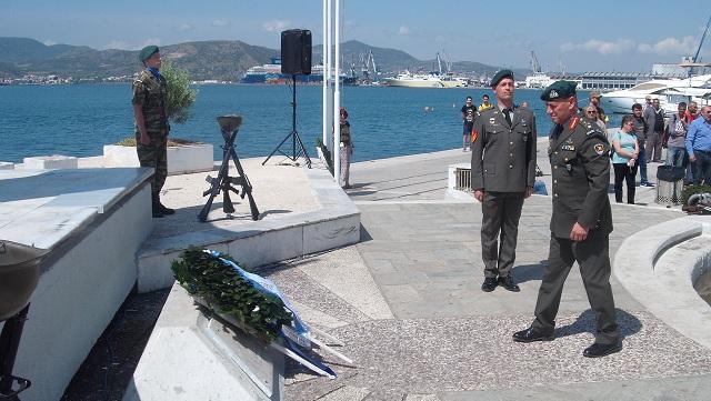 Ο Βόλος τίμησε την Ημέρα λήξης του Β΄ Παγκοσμίου Πολέμου