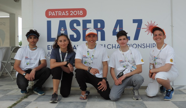 Στο πανευρωπαϊκό πρωτάθλημα αθλητές Laser 4,7 του ΟΕΑ-ΝAΒ