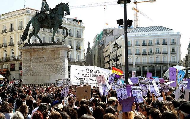 Ισπανία: Διαδήλωση χιλιάδων μαθητών κατά της αθώωσης βιαστών