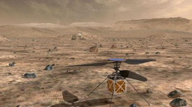 H NASA θα στείλει ελικόπτερο πάνω από τον Άρη