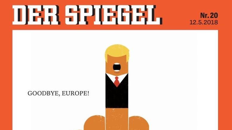 Αιχμηρό πρωτοσέλιδο του Spiegel με τον Τραμπ: «Αντίο Ευρώπη»