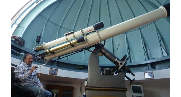 Ο Χαρίτωνας Τομπουλίδης ανακηρύχθηκε Ερασιτέχνης Αστρονόμος 2017
