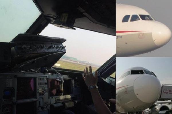 Φρίκη στον αέρα για επιβάτες αεροπλάνου: Έσπασε το τζάμι και… ρούφηξε τον πιλότο [βίντεο]