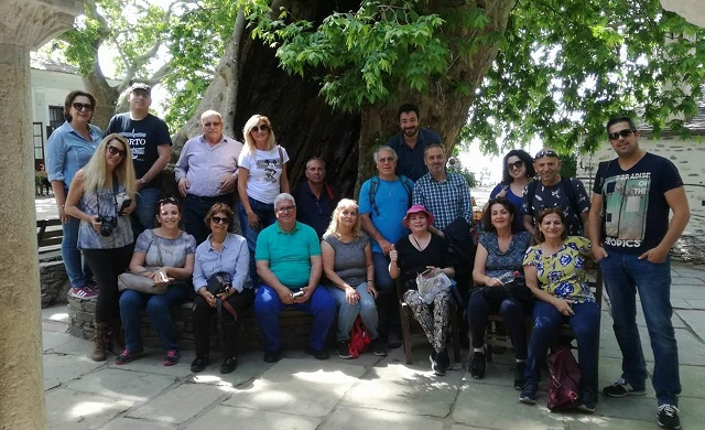 Ομάδα Ισραηλινών δημοσιογράφων και τουριστικών πρακτόρων στη Μαγνησία