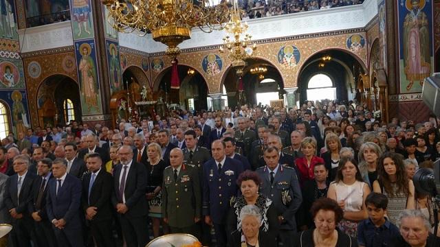 Στη σκιά του «αγώνα ζωής» του κ.Ιγνατίου ο εορτασμός του Αγίου Αχιλλίου στη Λάρισα