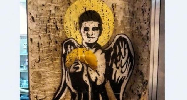 Συγκλονιστικό γκράφιτι για τον αδικοχαμένο 10χρονο μαθητή που «έφυγε» από ιατρική αμέλεια [εικόνα]