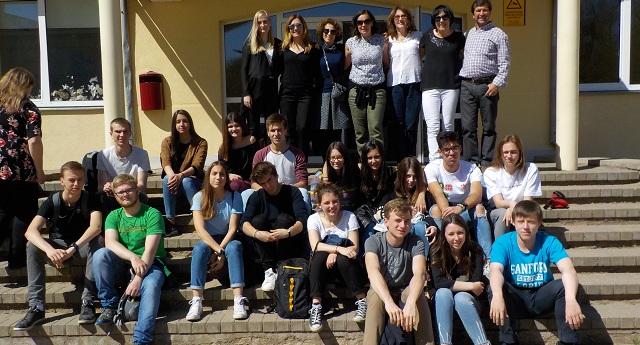 Καθηγητές και μαθητές του 4ου ΓΕΛ Βόλου στην Λετονία